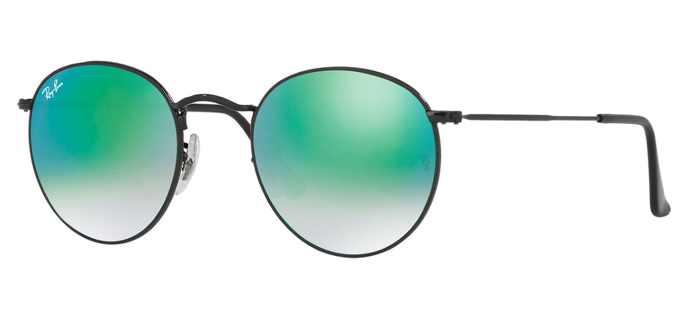ac0e5d702c Ray Ban Round Flash Lenses Green