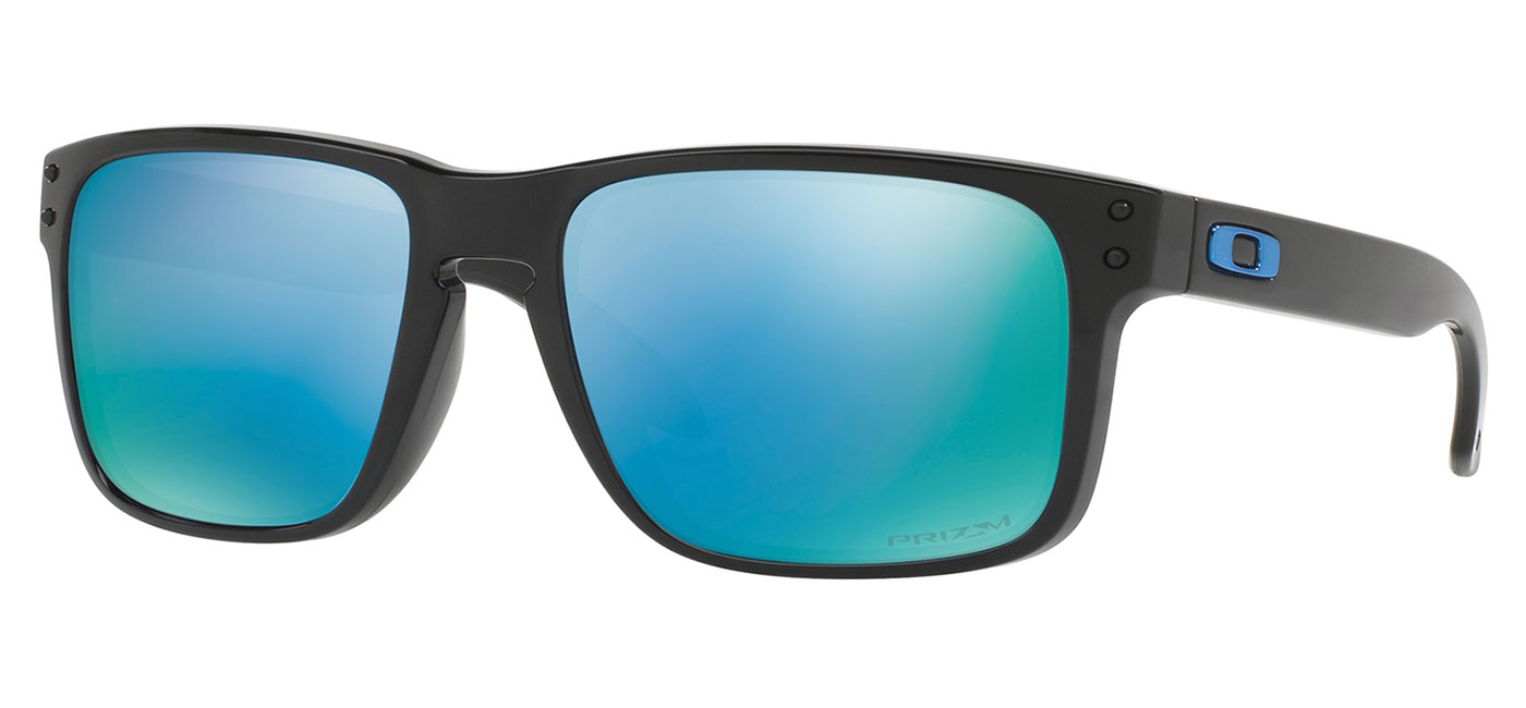 2637f2c62b ... Oakley Holbrook Sunglasses – Polished Black   Prizm Deep Water Polarised.  prev. next. 0OO9102  9102C1