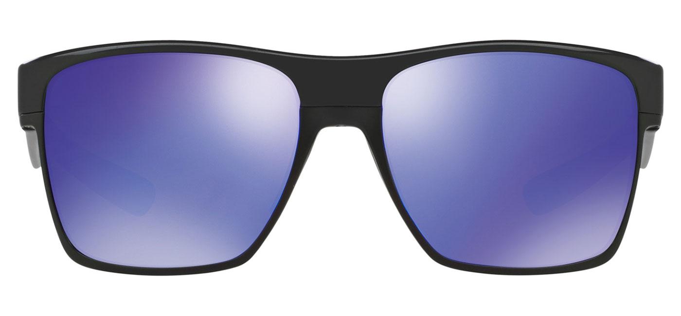 2dcb3b060c0 Oakley Twoface XL Sunglasses - Polished Black   Violet Iridium -  Tortoise+Black