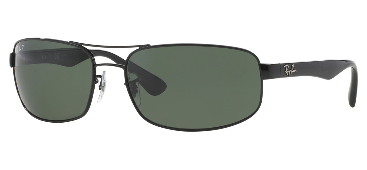 c3c3043364 ... Ray-Ban RB3445 Sunglasses – Black   Green Polarised.  0RB3445  002 58 product2. 0RB3445  002 58 product3