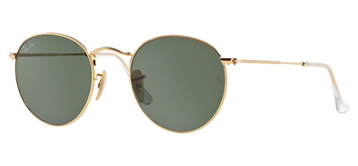7e57fd8f7e 0rb3447  001 product2. 0rb3447  001 product3. Ray-Ban RB3447 Round Metal  Sunglasses – Gold   Green 4. Ray-Ban ...