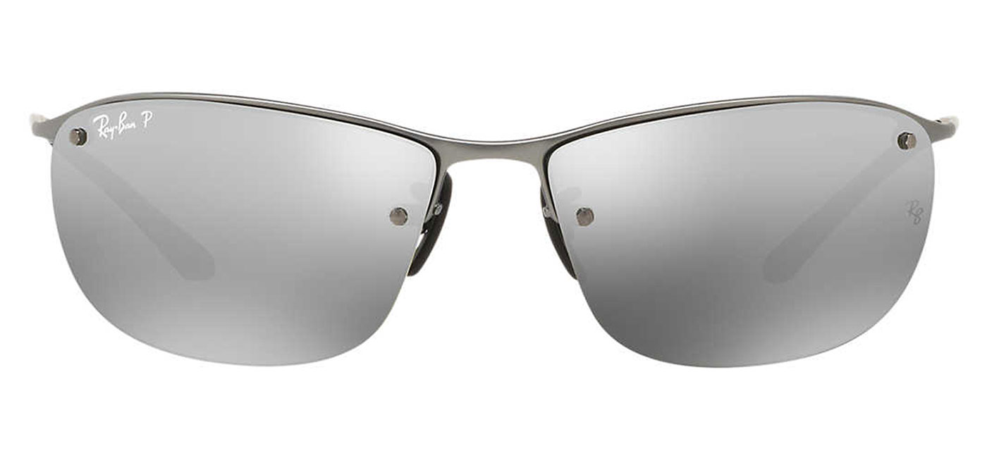 6aa8e2c512 0RB3542  029 5J product1. Ray-Ban RB3542 Sunglasses – Matte Gunmetal    Silver Mirror Chromance Polarised 3