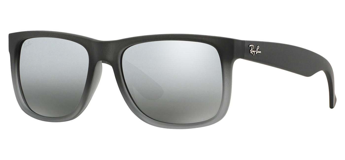 6be99545021 Ray Ban Justin Gray Mirror Lenses Prescription