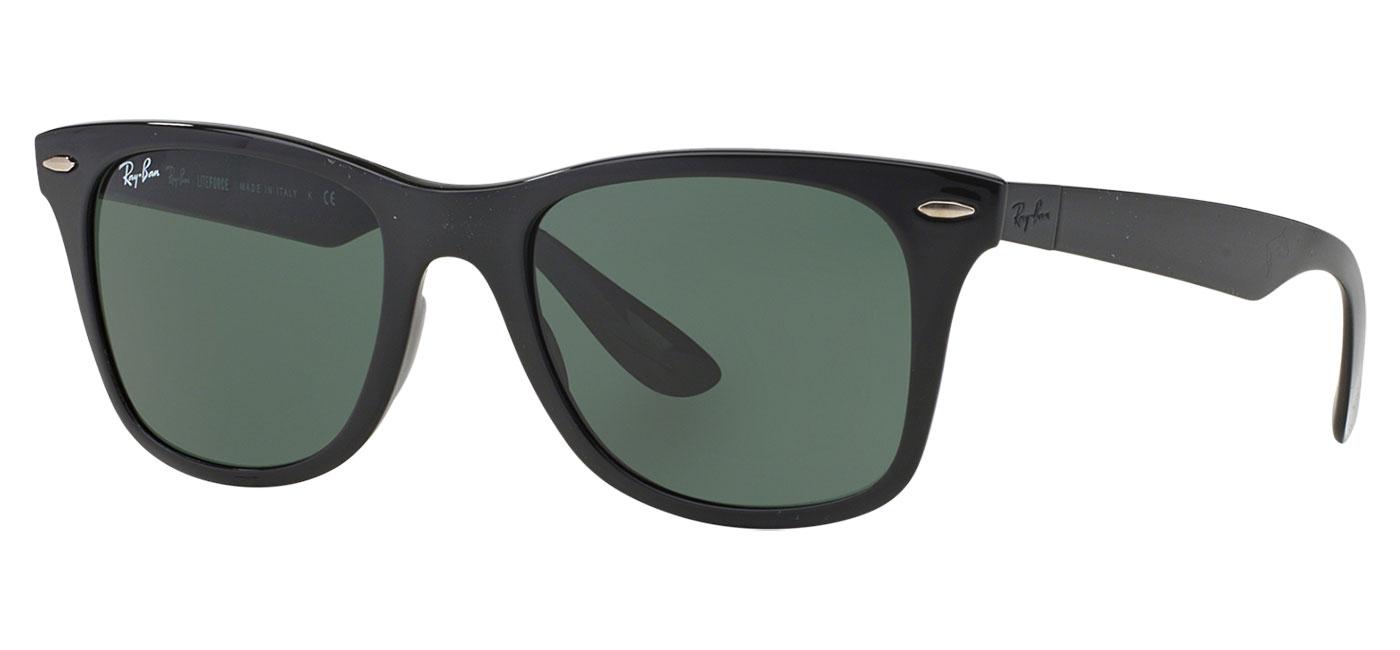 581a8d6dfaf 0RB4195  601 71 product2 · 601 71-side · Ray-Ban RB4195 Wayfarer Liteforce  Sunglasses – Black ...