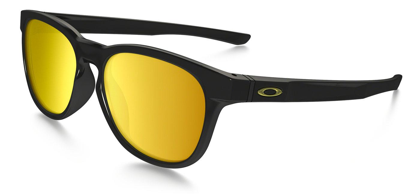 fb68f48b09 ... Oakley Stringer Prescription Sunglasses – Polished Black (Gold Icon).  prev. next. 24k-iridium