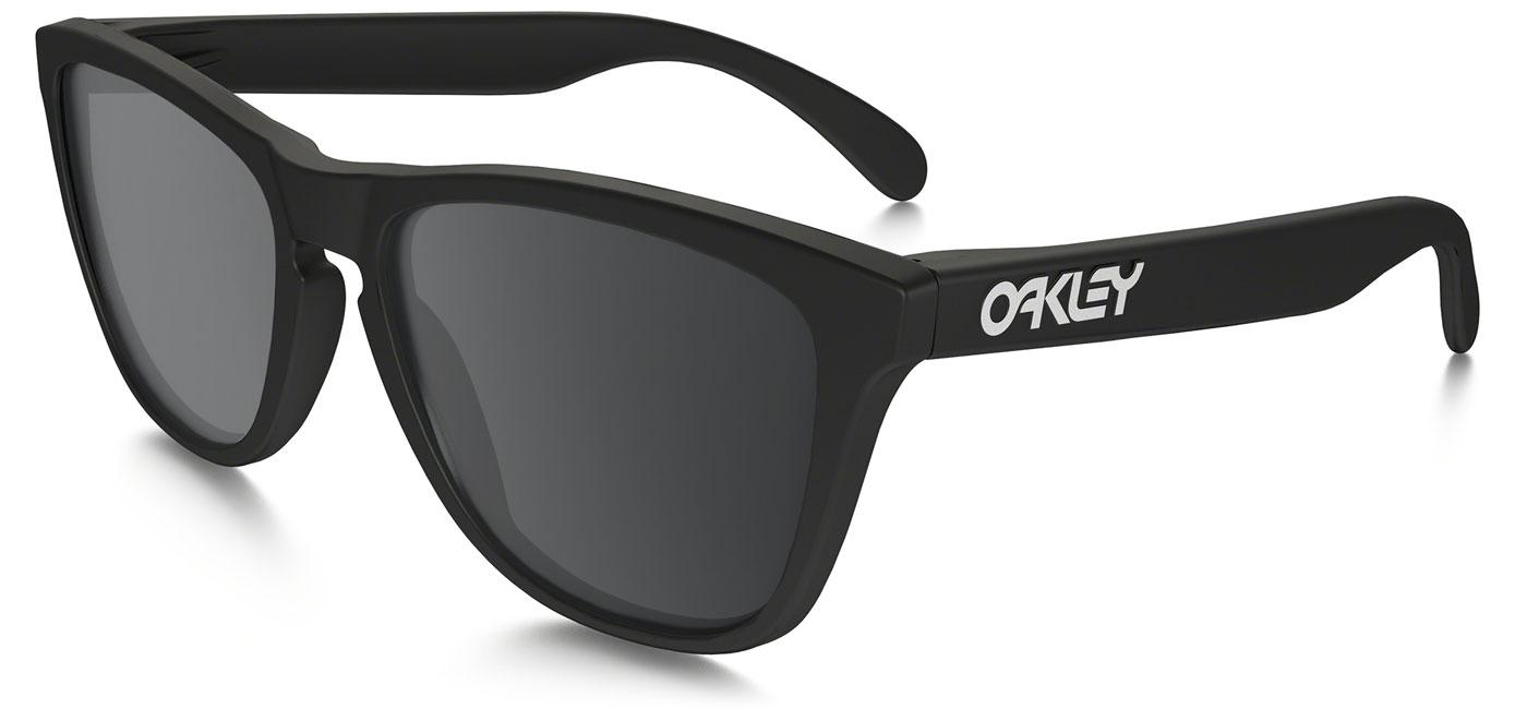 9b49d2fb79 ... Oakley Frogskins Prescription Sunglasses – Matte Black. prev. next.  black-iridium