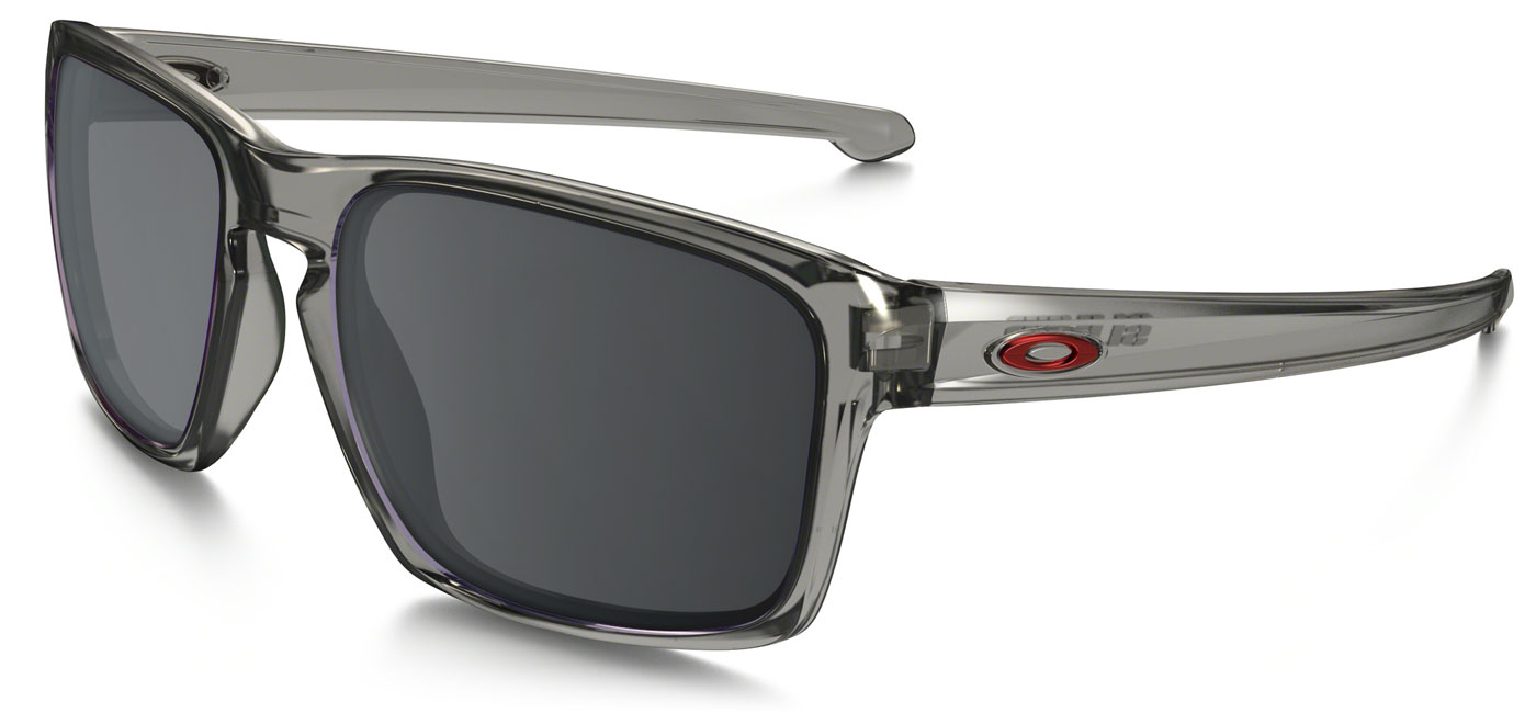 0a180b63557 ... Oakley Sliver Prescription Sunglasses – Grey Smoke. black-iridium