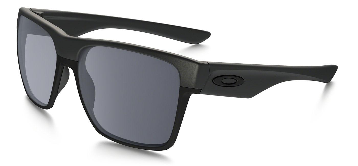 931e9a8e56030 Oakley Twoface XL Prescription Sunglasses - Steel - Tortoise+Black