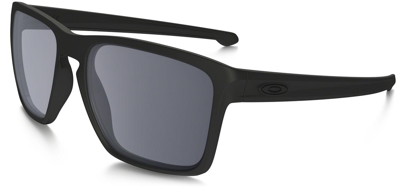 41d2e0fcc8c72 Oakley Sliver XL Prescription Sunglasses - Matte Black (Matte Black Icon) -  Tortoise+Black