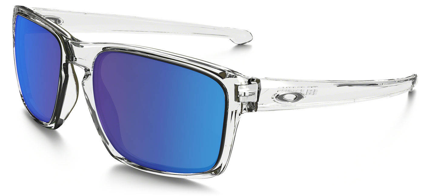8772360bd8b2c ... Oakley Sliver Prescription Sunglasses – Polished Clear. prev. next.  sapphire-iridium