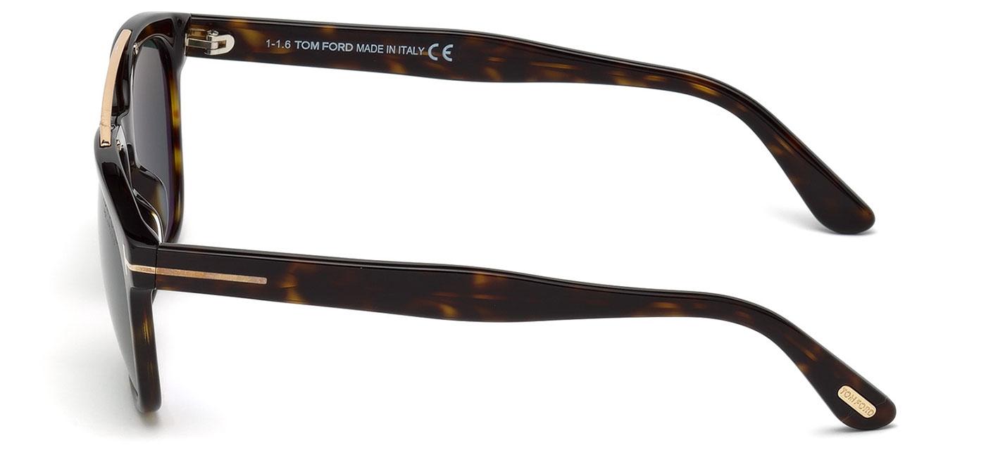 2f88652512 Tom Ford FT0516 Holt Sunglasses - Dark Havana   Polarised Green ...