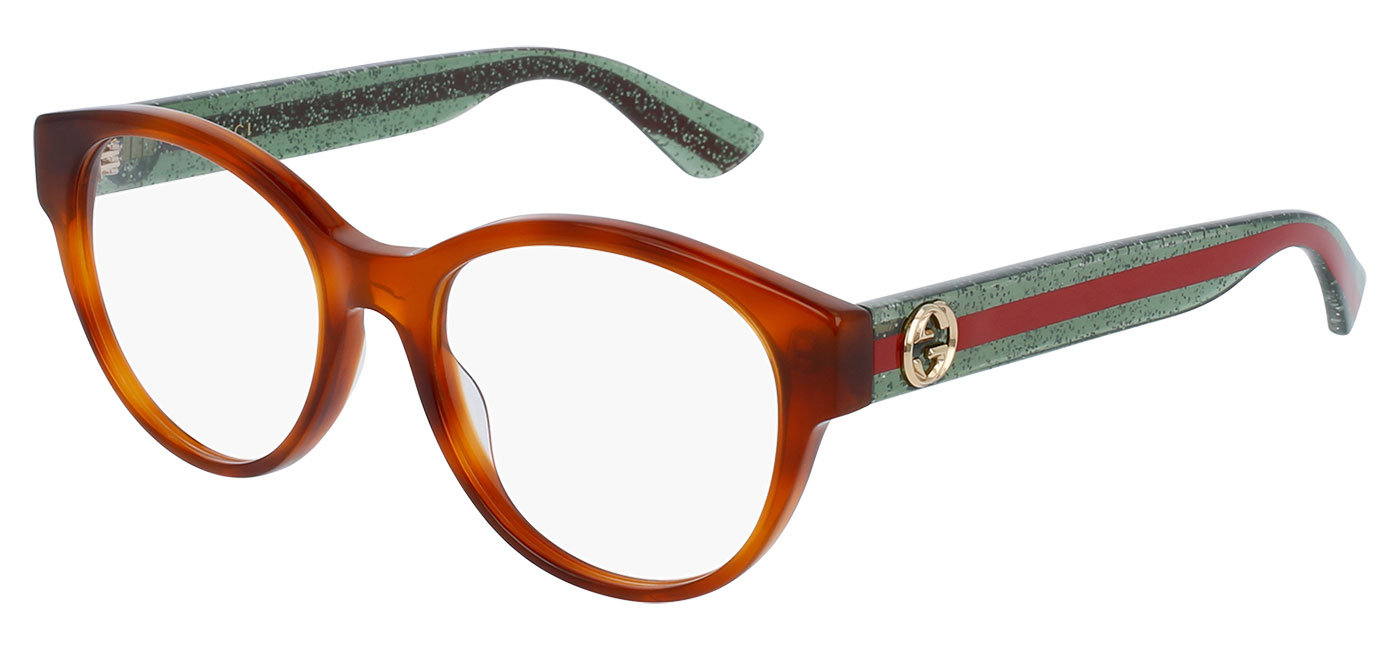 42b0e9bac4aa8 ... Gucci GG0039O Glasses – Tortoise   Red-Green. prev. next.  GG0039O-002 product