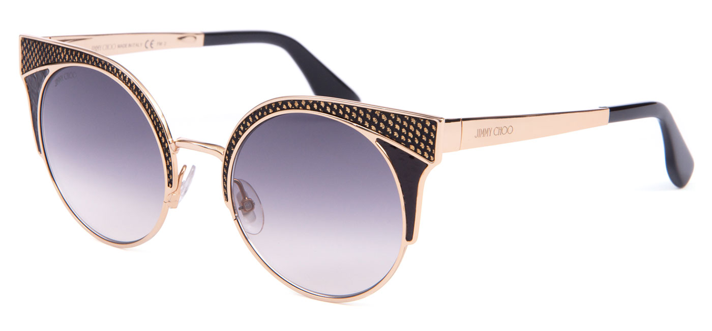 4e6fb13160b ... Jimmy Choo Ora Sunglasses – Gold   Black Snakeskin   Dark Grey  Gradient. ORA-PSU-9C product2