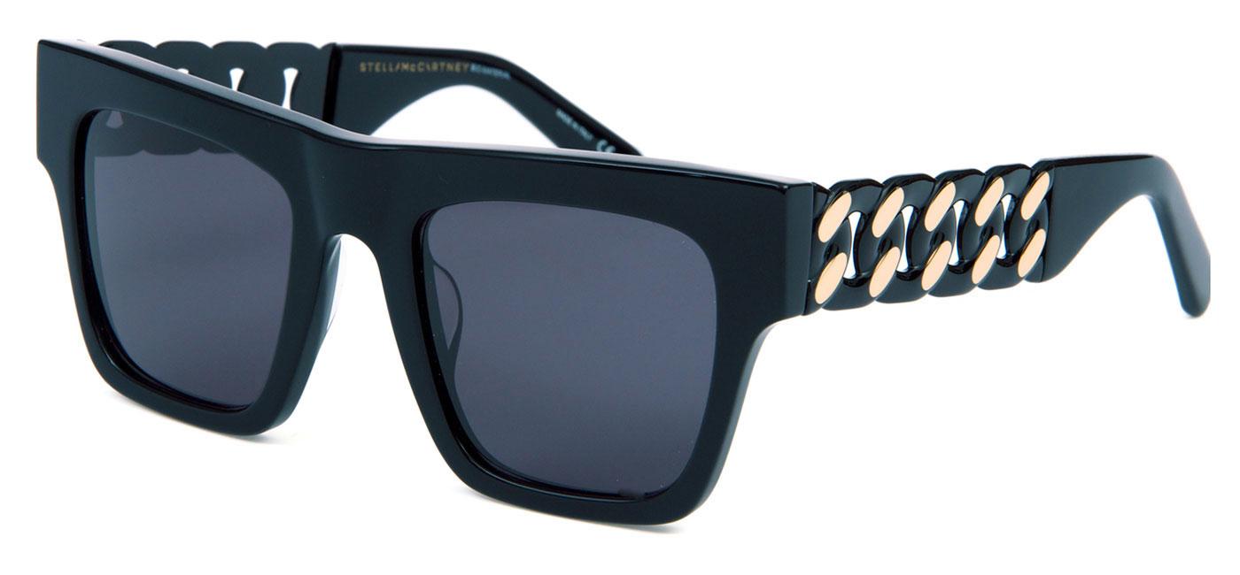 6f7eefe2b1a9c Stella McCartney SC0066S Sunglasses - Black   Grey - Tortoise+Black
