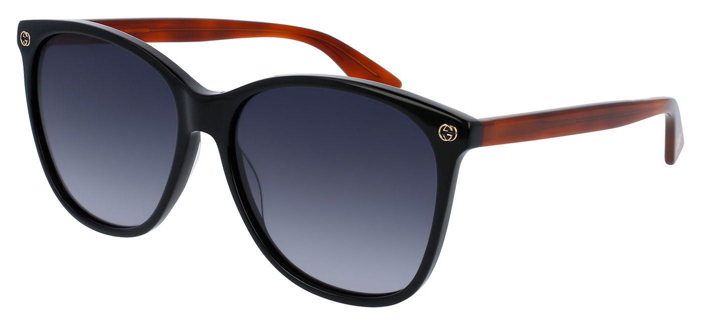 19d7fdd8873de ... Gucci GG0024S Prescription Sunglasses – Black   Tortoise. prev. next.  gg0024s