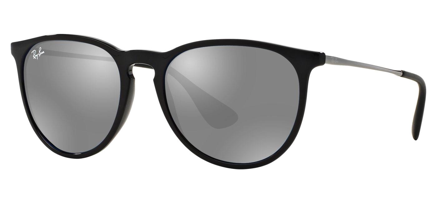 12355f35de Ray-Ban RB4171 Erika Prescription Sunglasses - Gloss Black ...