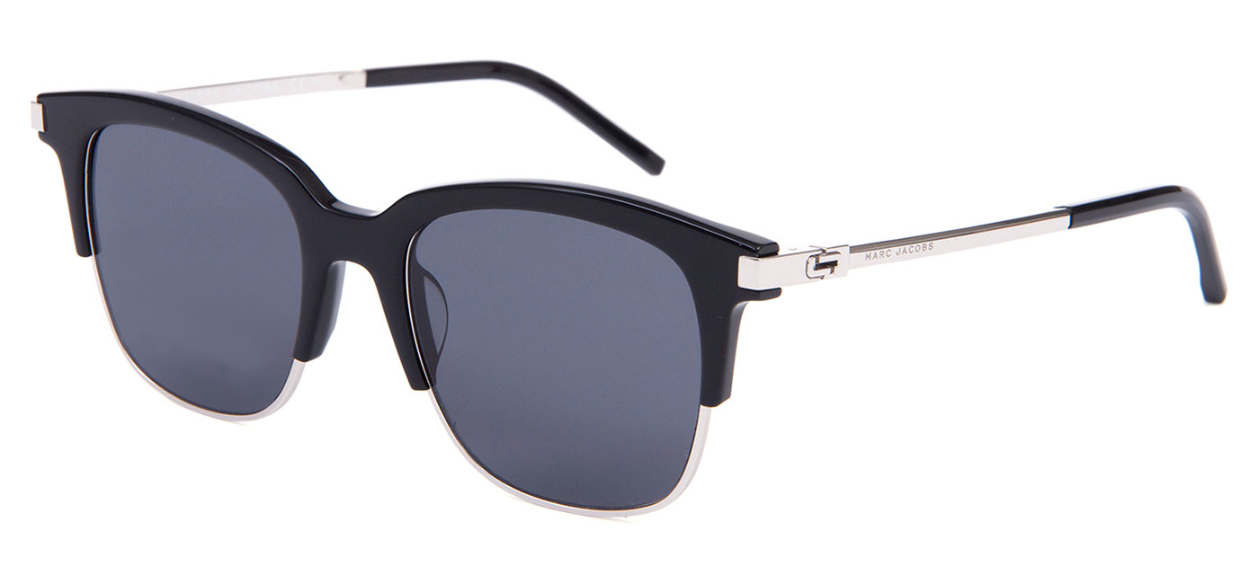 329f0626d72f ... Marc Jacobs 138/S Sunglasses – Black Silver / Grey Blue. prev. next.  MARC138-CSA-IR_product2