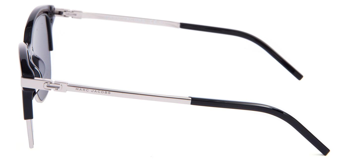 5fdf94efc695 MARC138-CSA-IR_product3 · Marc Jacobs 138/S Sunglasses – Black Silver / Grey  Blue 4