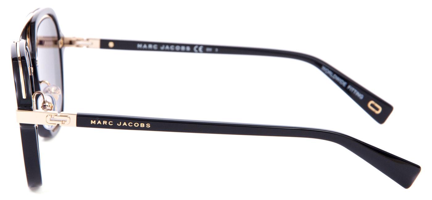 MARC172-2M2-9O product3 · Marc Jacobs 172 S Sunglasses – Black   Gold   Dark  Grey Gradient 4 eadb99b3ae28