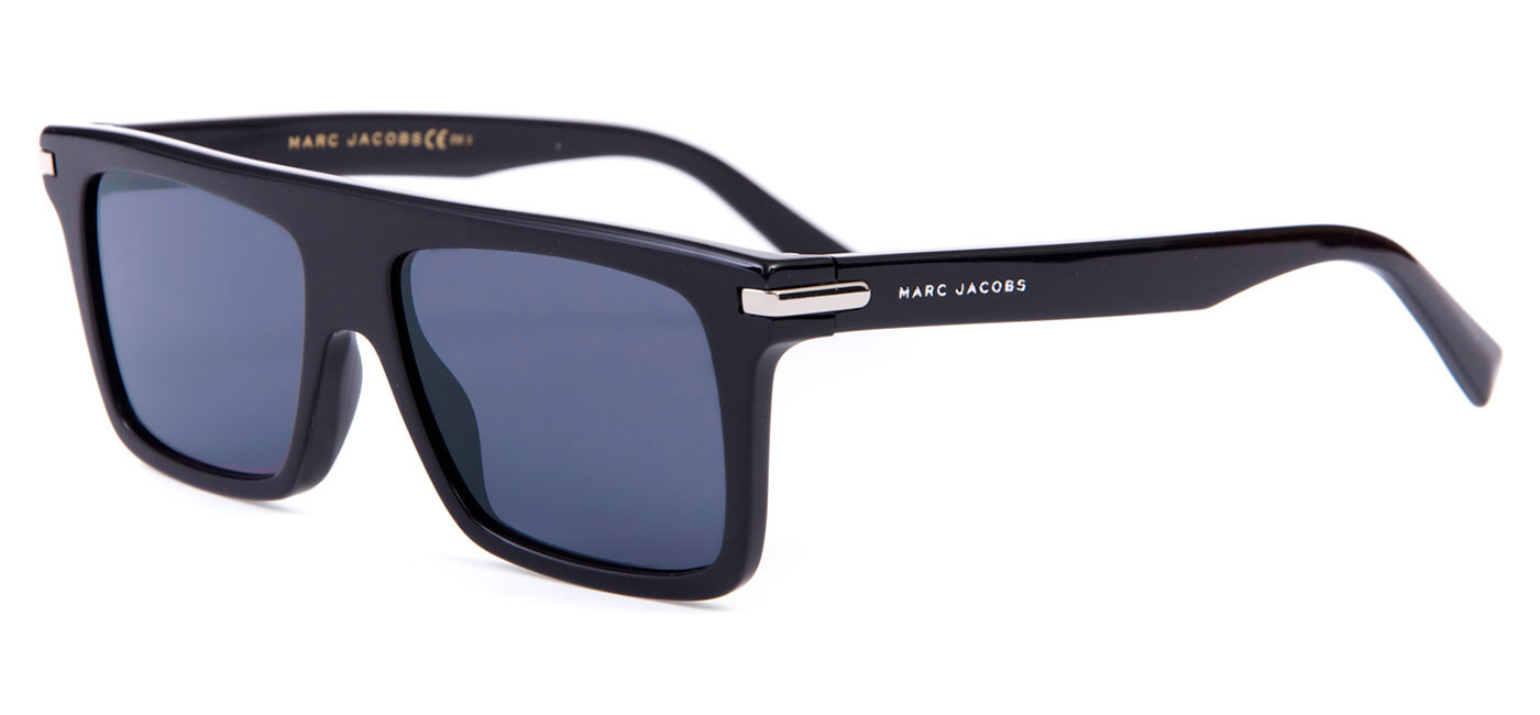 03c93e66b2 Marc Jacobs 186 S Sunglasses - Black   Grey Blue - Tortoise+Black
