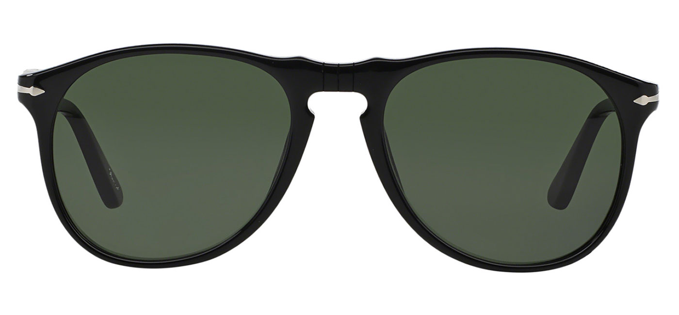 2c8de9ee58de0 Persol PO9649S Sunglasses - Black   Green - Tortoise+Black