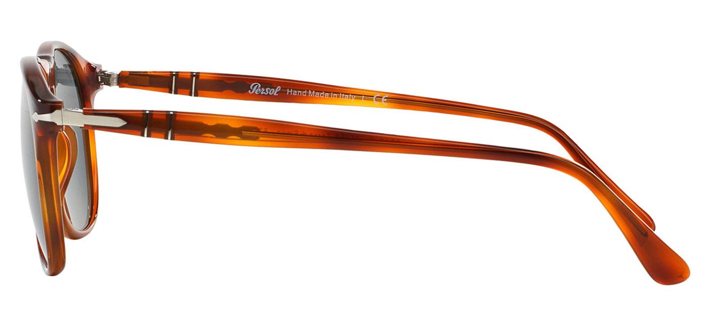 98f89e12041 PO9649S-9656 product3 · Persol PO9649S Sunglasses – Terra di Siena   Blue  4. Persol ...