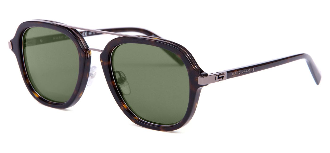 Marc Jacobs 172 S Prescription Sunglasses – Dark Havana - Tortoise+Black b13a6c357905
