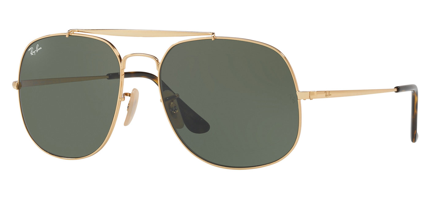 d2f630b91706e ... Ray-Ban RB3561 General Sunglasses – Gold   Green. prev. next.  0RB3561  001 product2