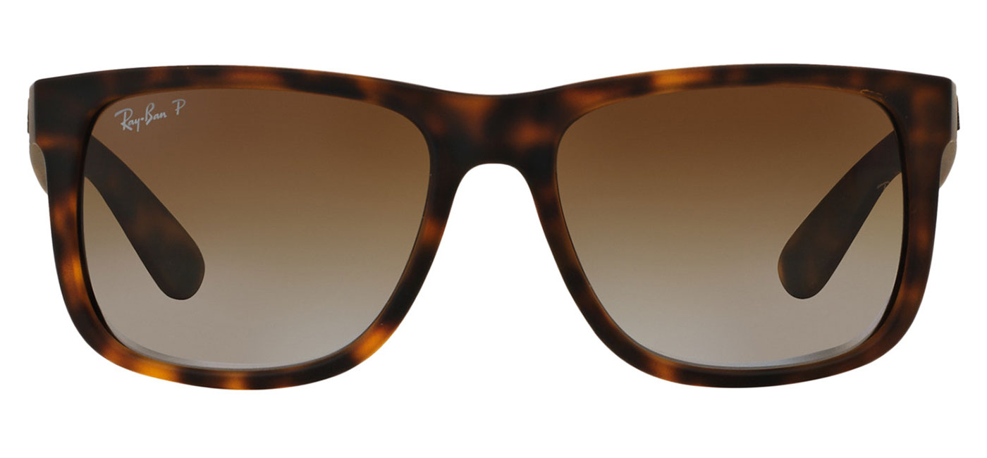6ddd9361f16 0RB4165  865 T5 product1. Ray-Ban RB4165 Justin Sunglasses - Tortoise    Brown Gradient Polarised