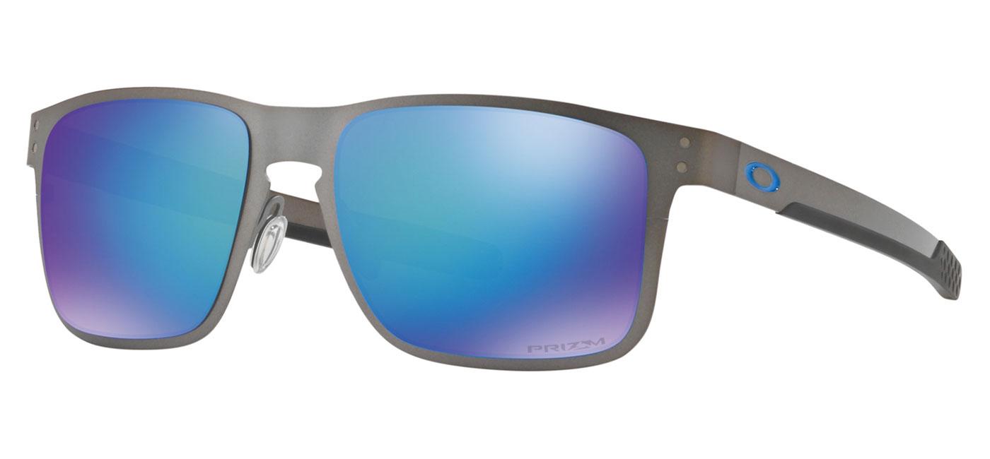 a9fb07a468 ... Oakley Holbrook Metal Sunglasses – Matte Gunmetal   Prizm Sapphire  Polarised. prev. next. OO4123-07 product2