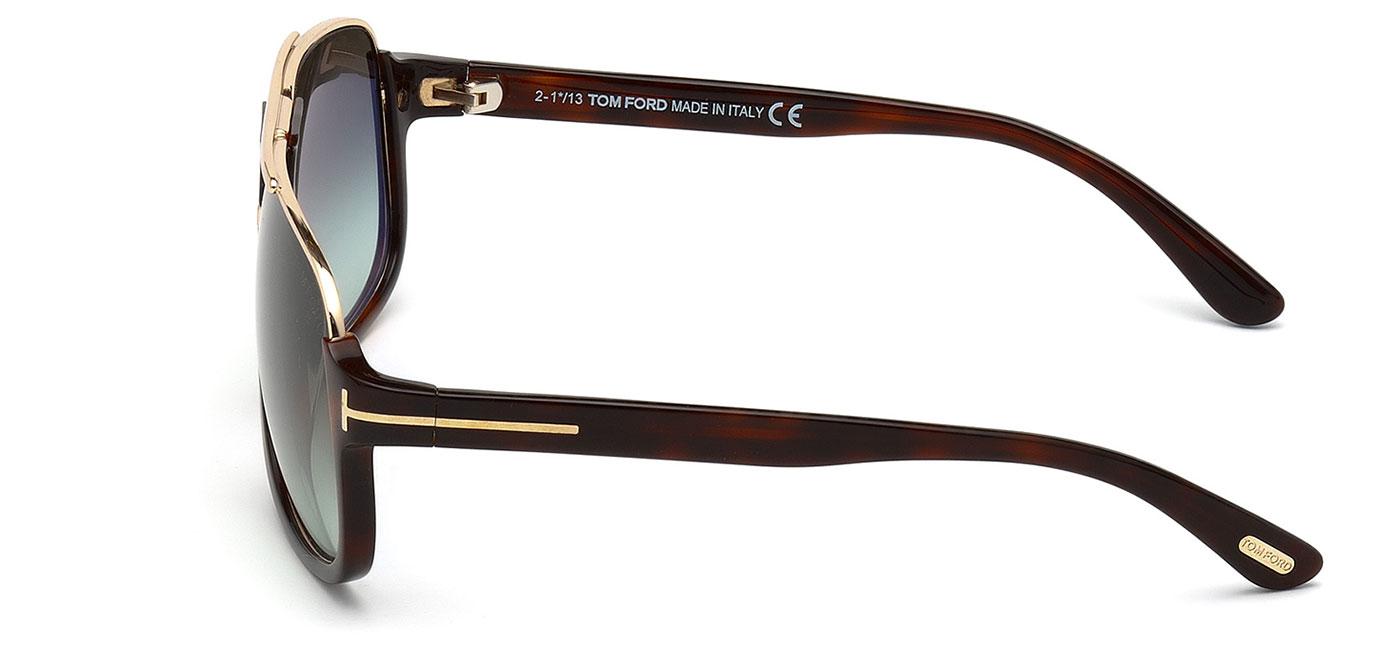 421f657df4 Tom Ford FT0335 Eliott Sunglasses - Tortoise   Gradient Green Roviex ...