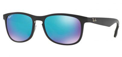 Ray-Ban RB4263 Chromance Sunglasses - Black / Blue Mirror Chromance Polarised