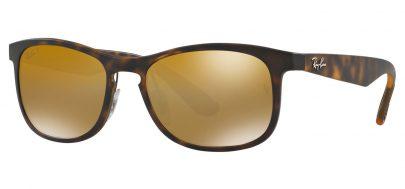 Ray-Ban RB4263 Chromance Sunglasses - Tortoise / Bronze Mirror Chromance Polarised
