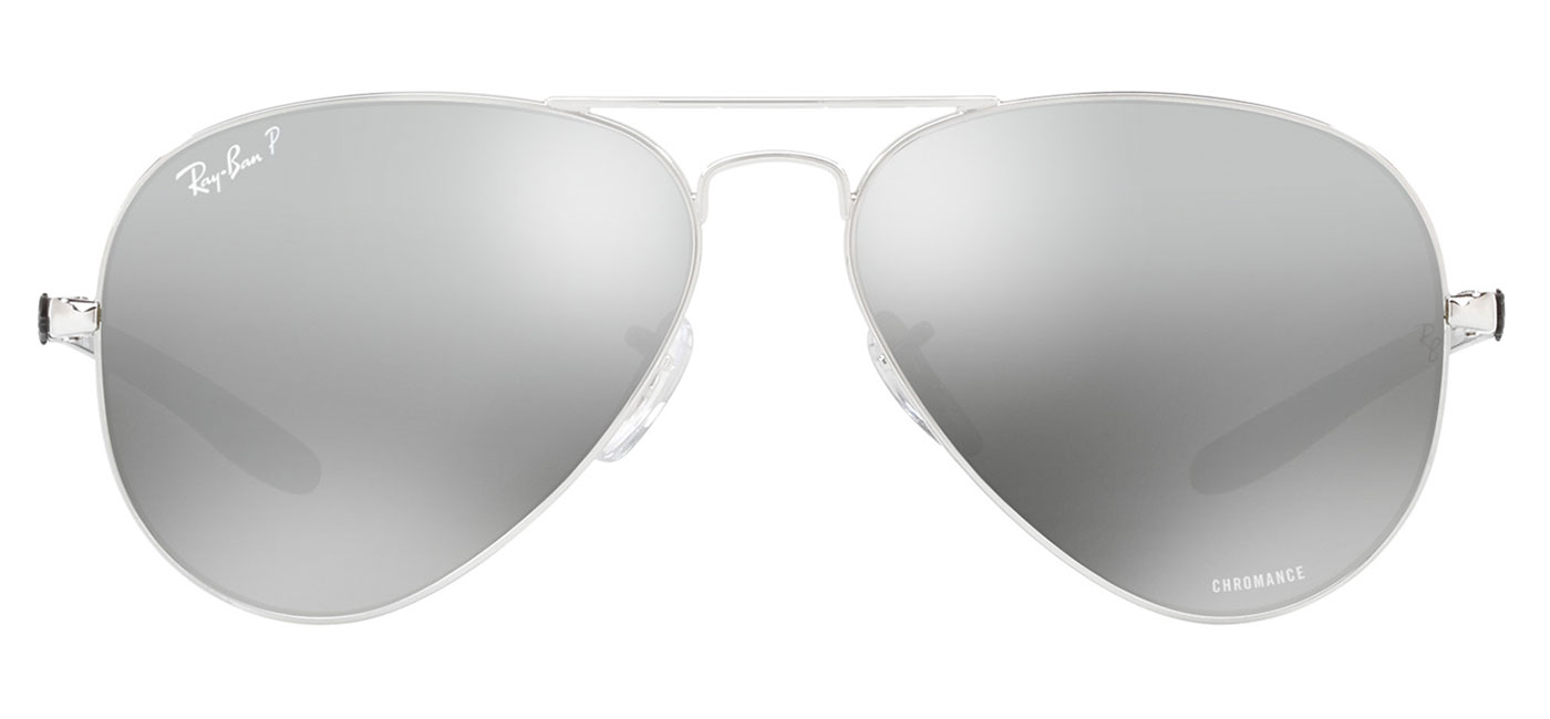 f937dcfe9e Ray-Ban RB8317CH Chromance Sunglasses – Silver   Silver Mirror Chromance  Polarised 1