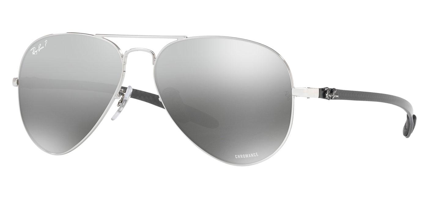 6e7ba391d3c Ray-Ban RB8317CH Chromance Sunglasses – Silver   Silver Mirror Chromance  Polarised 2