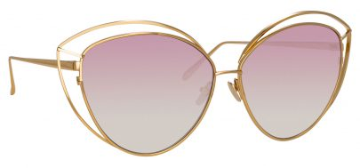 Linda Farrow LFL 697 - Light Gold / Pink Gradient
