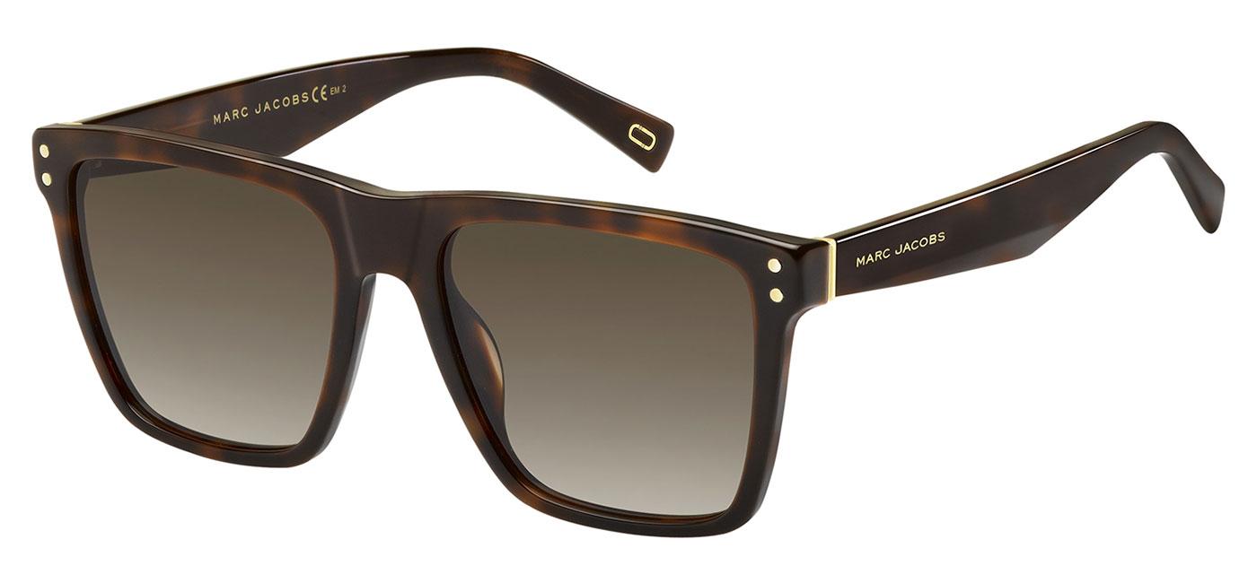 bec1317795ba Marc Jacobs 119/S Sunglasses - Havana / Brown Gradient - Tortoise+Black