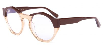 Marni ME2616 Glasses - Brown & Amber