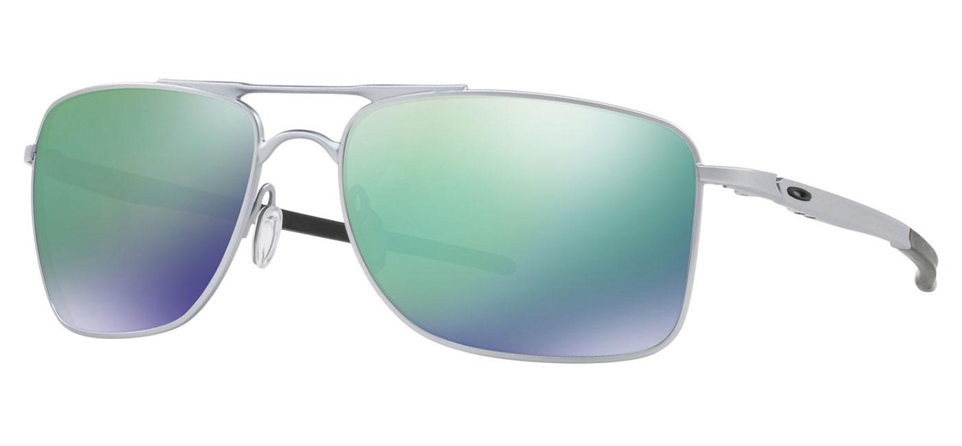9268503bce Oakley Gauge 8 Sunglasses - Matte Lead   Jade Iridium - Tortoise+Black