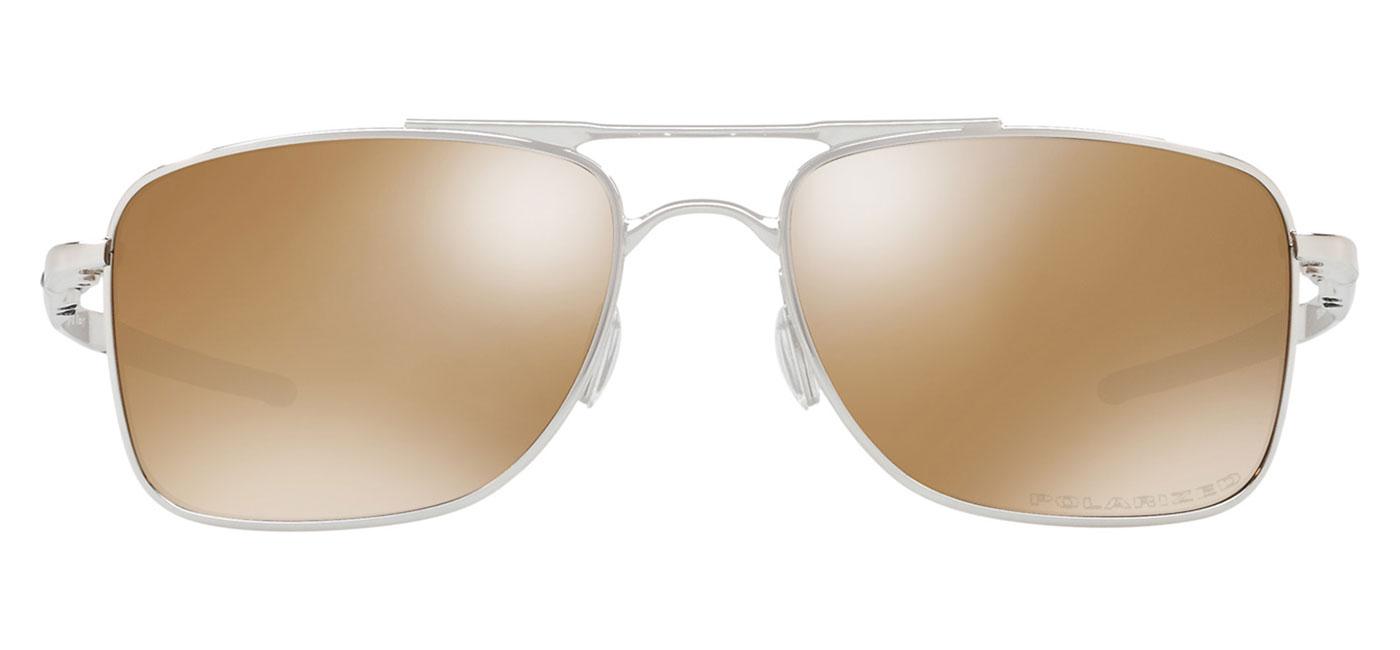 a85fe6d92a Oakley Gauge 8 Sunglasses – Polished Chrome   Tungsten Iridium Polarised 1