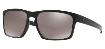 Oakley Sliver Sunglasses - Matte Black / Prizm Black Polarised