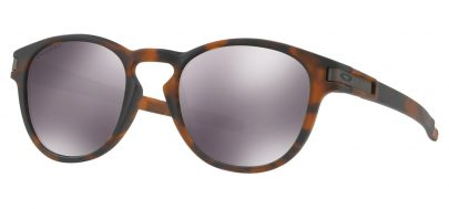 Oakley Latch Sunglasses - Matte Brown Tortoise / Prizm Black Iridium