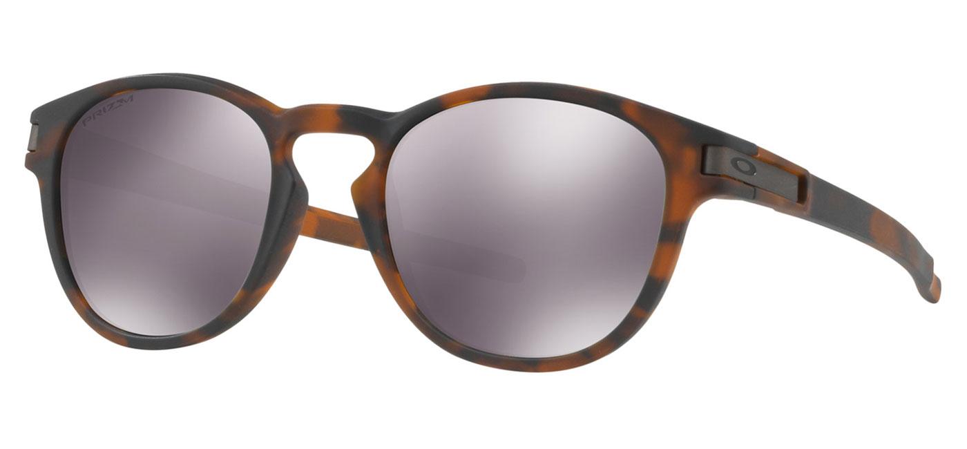 f5f2c16fa8 Oakley Latch Sunglasses - Matte Brown Tortoise   Prizm Black Iridium ...
