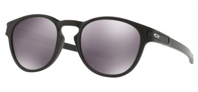 Oakley Latch Sunglasses - Matte Black / Prizm Black Iridium