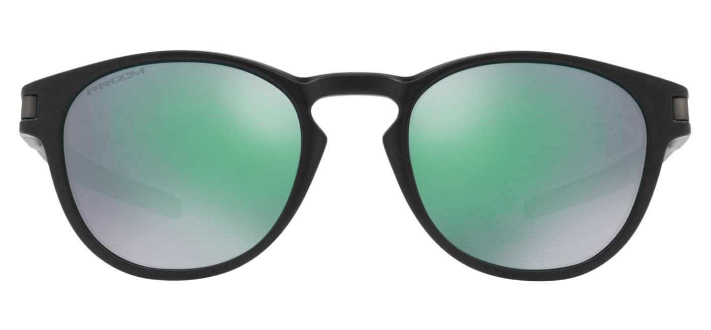 Oakley Latch Sunglasses \u2013 Matte Black / Prizm Jade 1