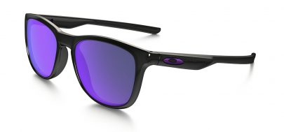 Oakley Trillbe X Sunglasses - Polished Black Ink / Violet Iridium Polarised