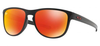 Oakley Sliver R Sunglasses - Moto GP Collection - Matte Black / Prizm Ruby