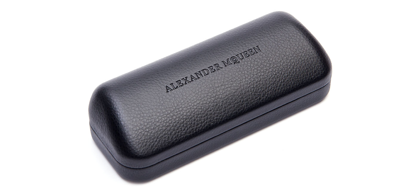 Alexander McQueen AM0121SA Sunglasses – Ruthenium / Grey 2