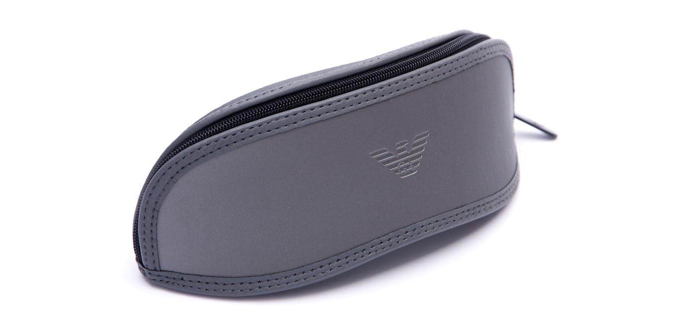 Emporio Armani EA4048 Sunglasses – Black & Matte Grey / Grey Polarised 4