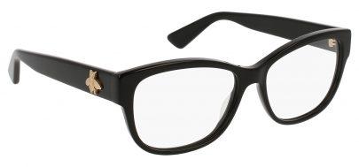 Gucci GG0098O Glasses - Black